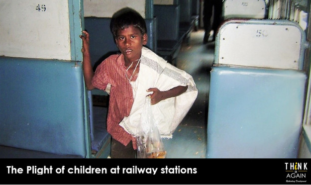 The Plight of children at railway stations