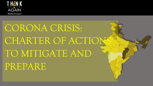 Corona Crisis: Charter of Actions to Mitigate and Prepare