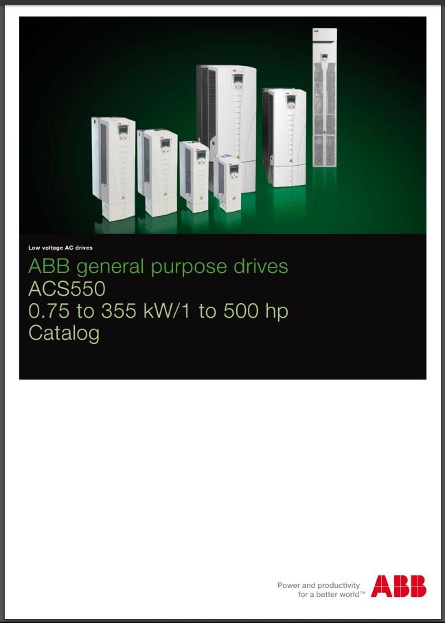 Catalogo ACS550