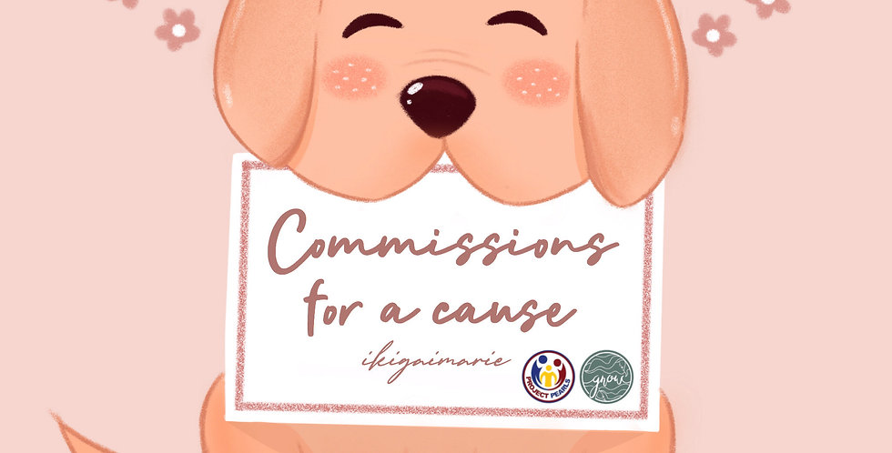 Ikigai Marie's Commissions For A Cause