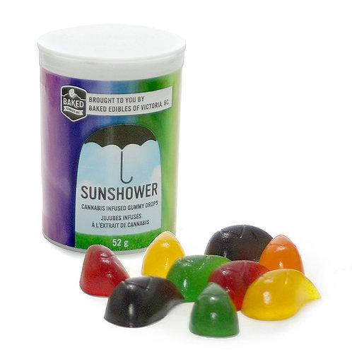 Baked Edibles Inc. Sunshower Gummies (75mg THC per bottle)