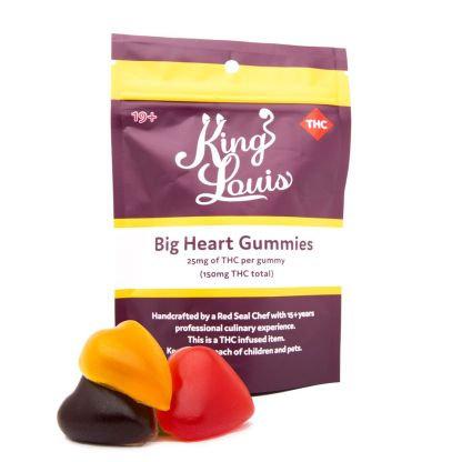 King Louis Big Heart Gummies