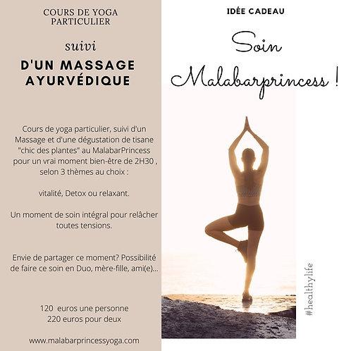 Cours de yoga et massage ayurvédique Duo
