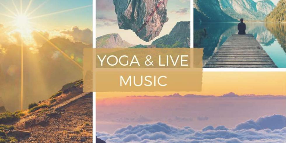 YOGA & LIVE MUSIC sur la fréquence sacrée