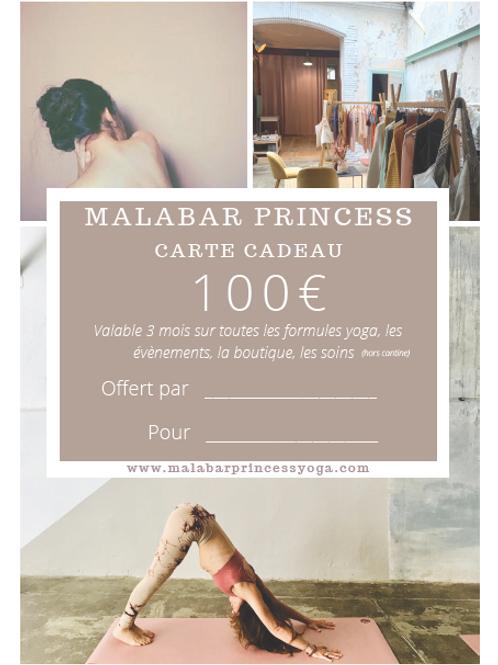 Bon cadeau valeur 100 euros