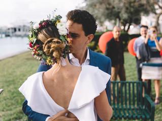 Intimate Miami Beach Wedding