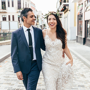 Old San Juan Love Story, Patricia + Ismael