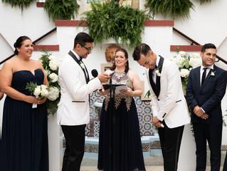 Casa De España Destination Wedding