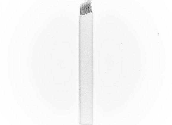 NANOblades - Angled Flexible. 11 Needle
