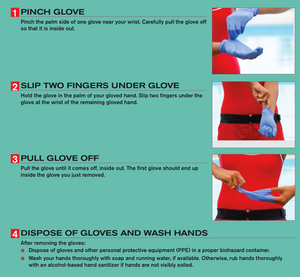 how to change disposable gloves