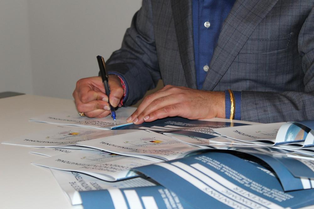 Yuvraj Verma Book Signing