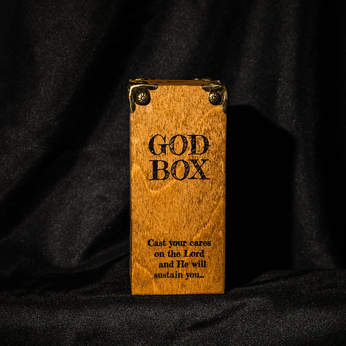 "God Box 7"" dark natural"