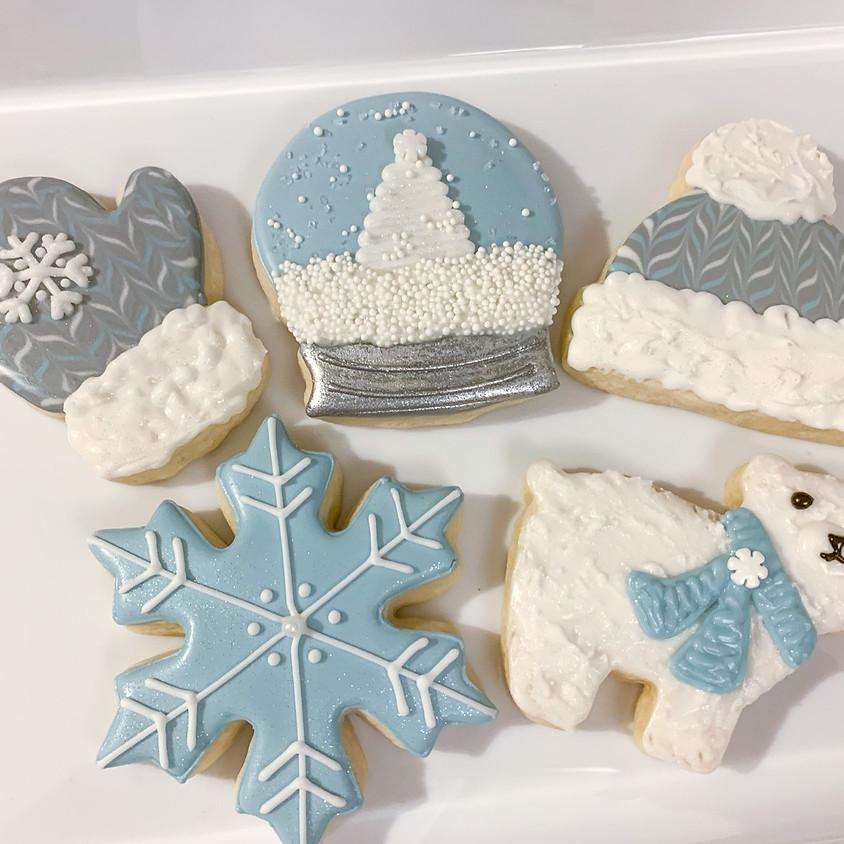 Winter Wonderland Cookie Decorating Class - Adults