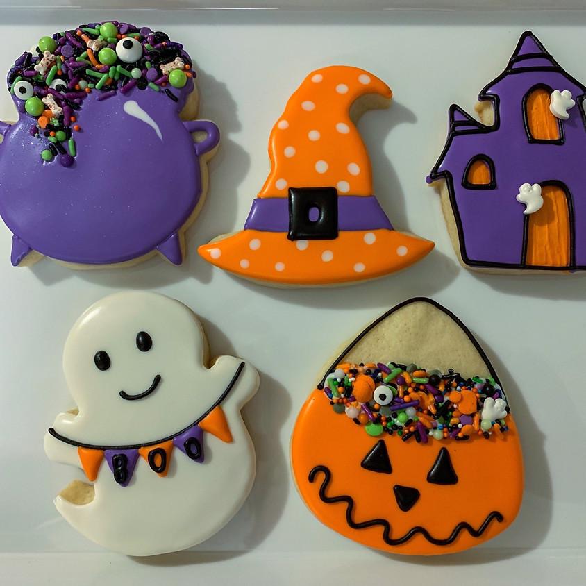 Adult Halloween Cookie Decorating Class - BYOB