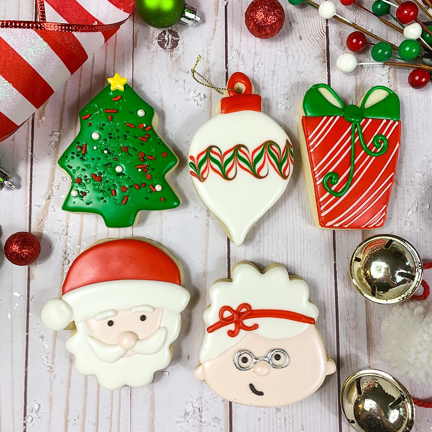 Adult Holiday Cookie Decorating Class - BYOB