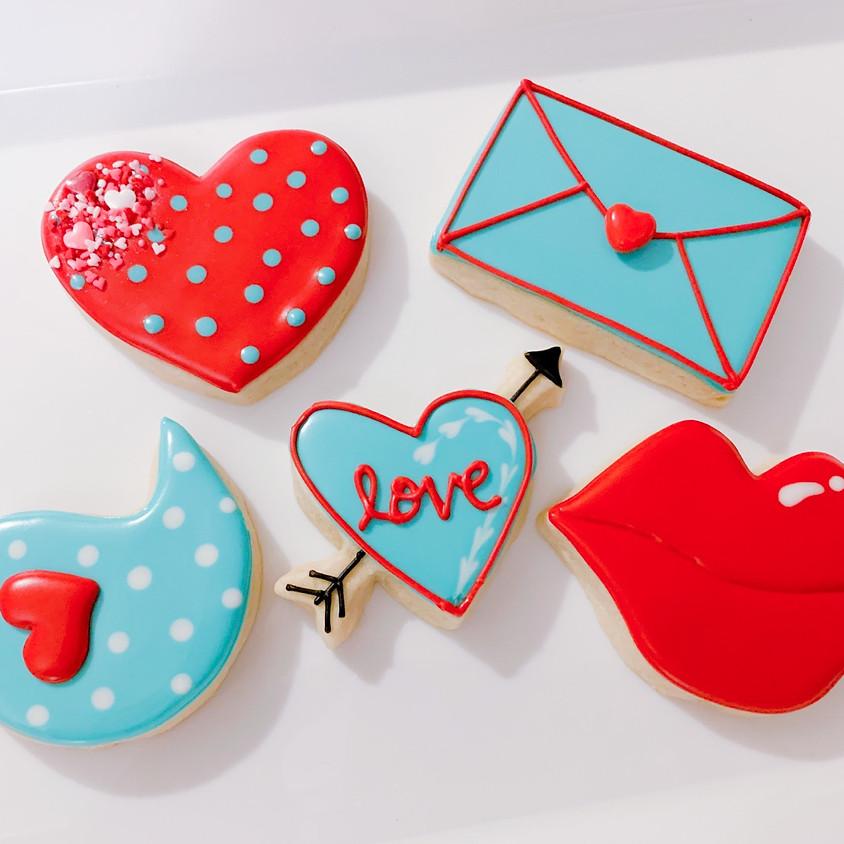 Valentine's Day Adult Cookie Decorating class BYOB