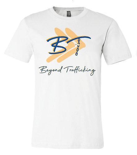 White Beyond Trafficking T-Shirt