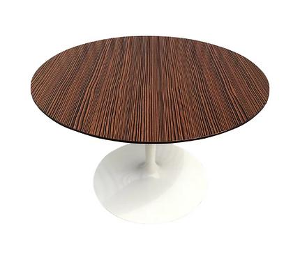 """Saarinen Style """"Zebra Top"""" Table"""