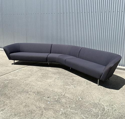Arper, Italy. 12' Loop Sofa