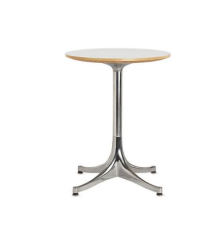George Nelson for Herman Miller Swag Leg Pedestal End Table