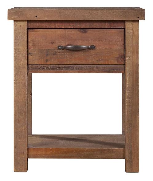Vintage Style Bedside Cabinet/ Nightstand