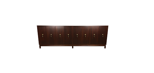 Mahogany Buffet Credenza after Maurice Bailey