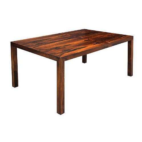 Rosewood Parson Style Dining Table