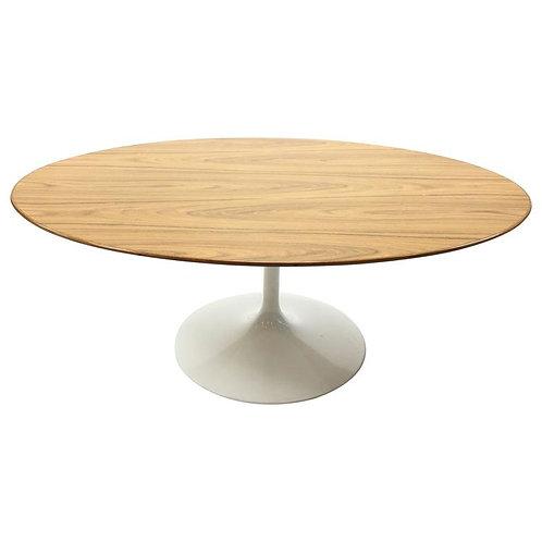 Eero Saarinen Rosewood Tulip Cocktail Table for Knoll