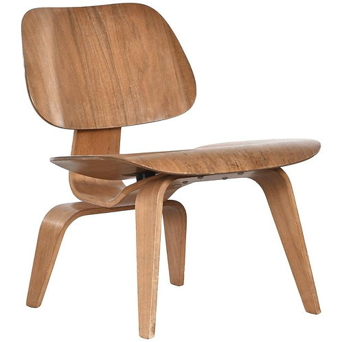Walnut Eames LCW for Herman Miller