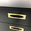 Thumbnail: Extraordinary Thin-Edge Dresser with Brass Trim
