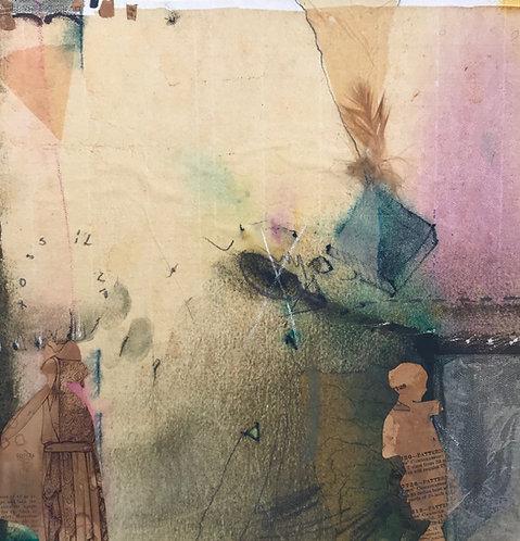Mixed Media Painting by Roberta Alexander