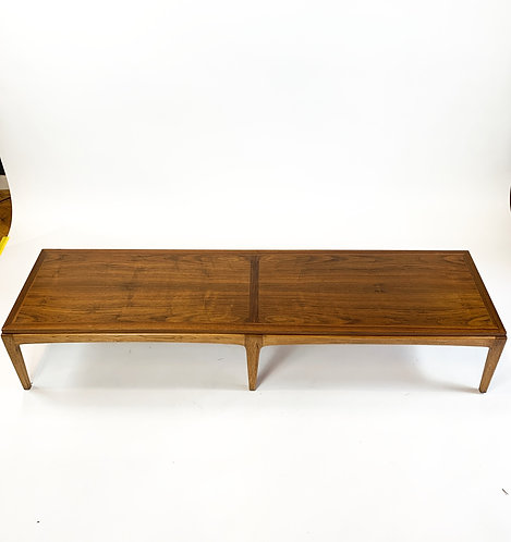 Lane Walnut Mid Century Coffee Table