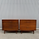 Thumbnail: 1950s Mid-Century Modern Jens Risom Walnut Bachelor Chests - a Pair