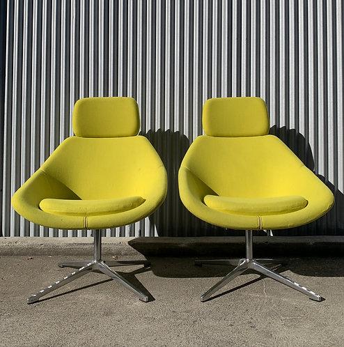 Kielhauer Lounge Chairs, Pair
