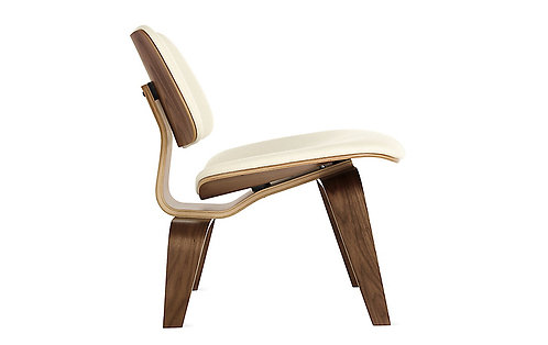 Eames Upholstered Molded Plywood Lounge Chairs (LCW)
