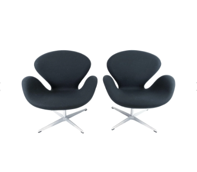 Fritz Hansen Swan Chair/ Pair