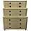 Thumbnail: Rare Bleached Primavera Triple Dresser by Charles Pfister for Baker