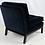 Thumbnail: Pair of Velvet Slipper Chairs by Robsjohn-Gibbings for Widdicomb