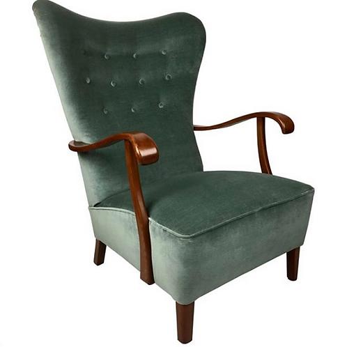 Swedish Wingback Chair