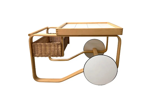 Alvaar Aalto Artek Tea Cart