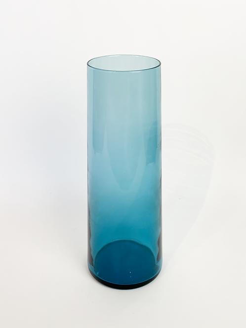 Swedish Blown Glass Cylinder Vase