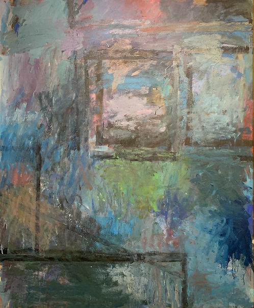 """Farrar Wislon """"Two (Grey Upper Left)"""" ca 1988"""