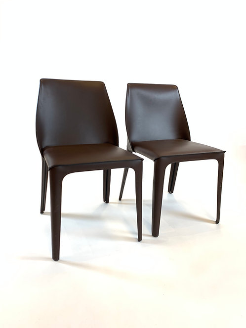 Flexform Isobel Chairs, a Pair