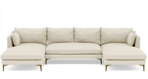 Interior Define Caitlin by The Everygirl U Sectional