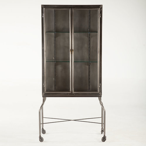 Pittsburgh Iron Glass Cabinet