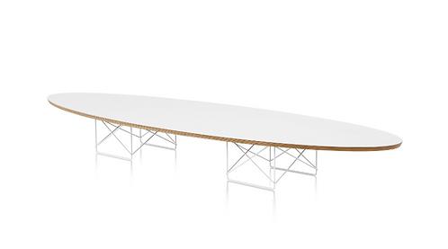 Contemporary Eames Elliptical Surfboard Table