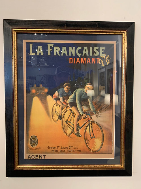 Vintage French Bicycle Poster