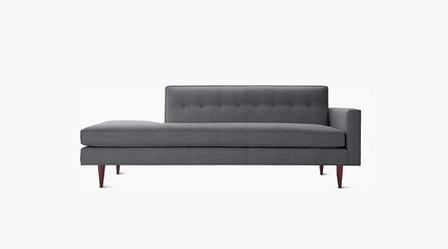 DWR Bantam Sofa Left Chaise, Grey