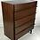Thumbnail: Sculpted Dimensional Front Walnut Dresser by Merton Gershun
