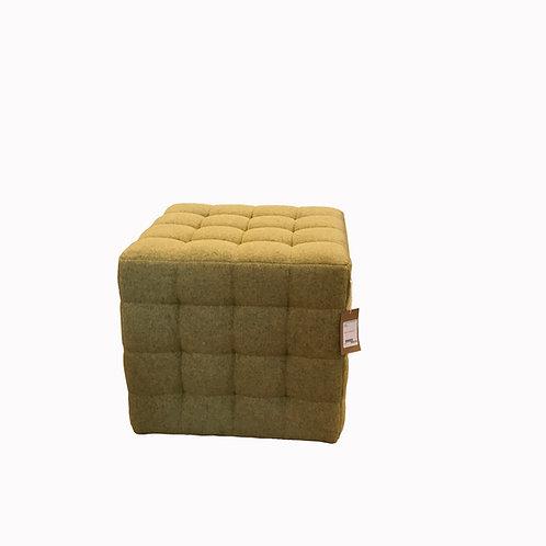 Wool Cube Ottoman